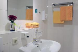 Ванная комната в Adler-Hotel Delitzsch