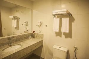 Um banheiro em Intercity Teresópolis