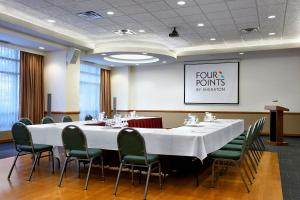 The business area and/or conference room at Four Points by Sheraton Vancouver Airport