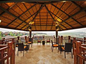 ห้องอาหารหรือที่รับประทานอาหารของ A-Star Phulare Valley, Chiang Rai