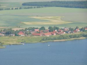 A bird's-eye view of Flair Seehotel Zielow