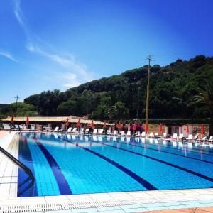 The swimming pool at or near Hotel Cala di Mola