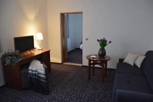 Гостиная зона в Hotel Zámek Velká Bystřice