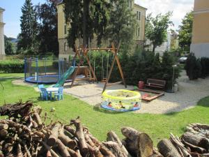 Herní místnost nebo prostor pro děti v ubytování Wellness Penzion U Muzea