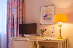 TV/Unterhaltungsangebot in der Unterkunft Hotel Residenz Joop