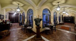 Un restaurante o sitio para comer en Cortijo Sabila