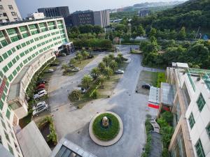 منظر فندق لاندمارك العالمي مدينة العلوم من الأعلى