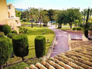 Jardín al aire libre en La Manga Club Hotel Príncipe Felipe