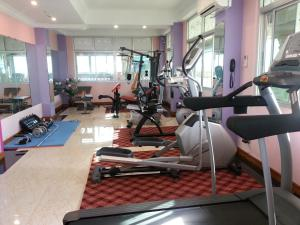 The fitness center and/or fitness facilities at Grand Laurel Hotel