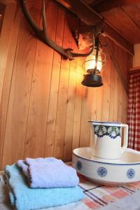 A bathroom at Hotel Guidon Apartments