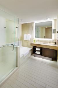 A bathroom at Fairmont Pittsburgh