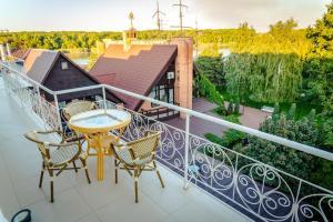 Балкон или терраса в Петровский Причал Отель & SPA