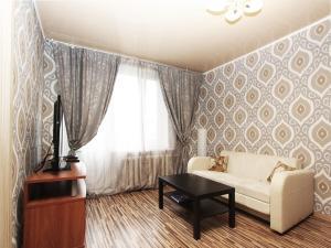 Гостиная зона в ApartLux Третьяковская