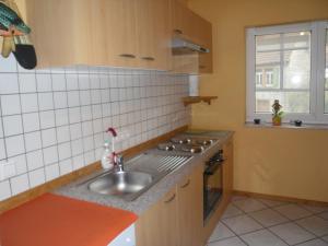 Küche/Küchenzeile in der Unterkunft Ferienhaus Route 5