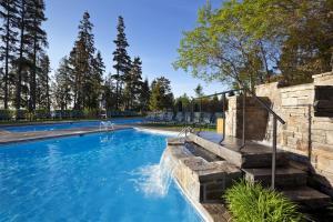 The swimming pool at or near Fairmont Le Manoir Richelieu