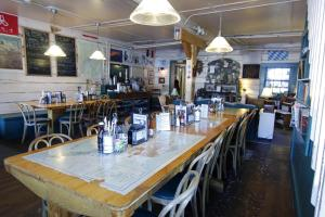 A restaurant or other place to eat at Talkeetna Roadhouse