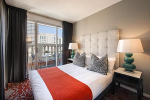 Cama o camas de una habitación en Miller Apartments