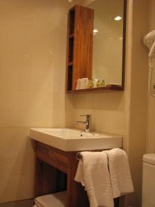 Un baño de Hotel Ruta de la Plata de Asturias