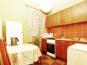 Кухня или мини-кухня в ApartLux Речной