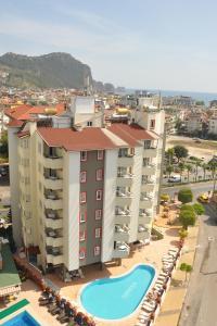Een luchtfoto van Sunpark Aramis Hotel
