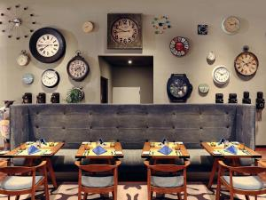 A restaurant or other place to eat at Mercure Jakarta Simatupang