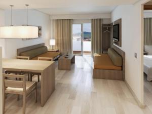 Area soggiorno di Apartamentos Tres Torres