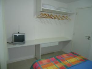 Uma TV ou centro de entretenimento em JTR México Apartamento