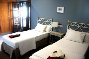 Cama o camas de una habitación en Casa Del Rey