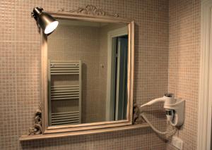 A bathroom at Affittacamere Parco dei Canapè