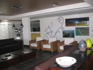 The lounge or bar area at Mar do Cabo Branco Beira Mar