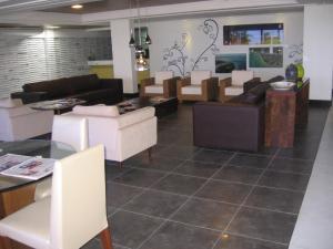 The lobby or reception area at Mar do Cabo Branco Beira Mar
