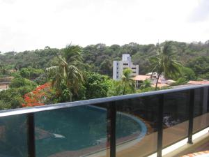 A view of the pool at Mar do Cabo Branco Beira Mar or nearby