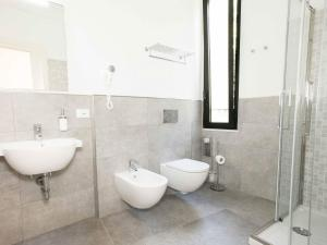 A bathroom at La Casa di Zuecca