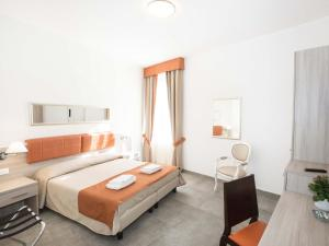A bed or beds in a room at La Casa di Zuecca