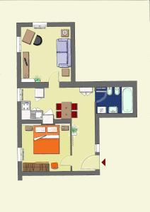 Planimetria di Appartamento al Ghetto Vecchio