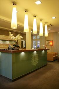 The lobby or reception area at Hotel zum Adler - Superior