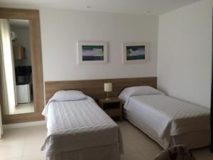 A bed or beds in a room at Mont Blanc Diamond Flat