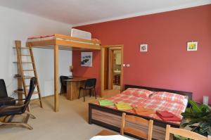 Кровать или кровати в номере Residence Salvia