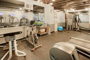 The fitness center and/or fitness facilities at Hotel Triton
