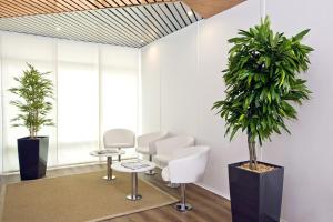 A seating area at Séjours & Affaires Strasbourg Kleber