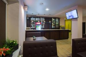 Лаундж или бар в Отель Рипосо