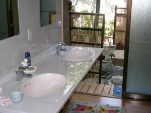 A bathroom at Daiya Ryokan
