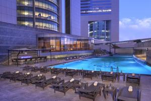 The swimming pool at or near Jumeirah Emirates Towers