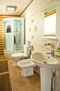 Ванная комната в Загородный клуб Белая Лошадь