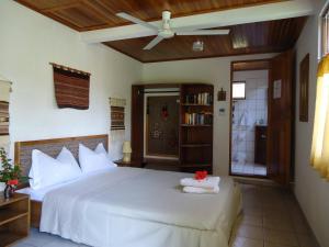 Ein Bett oder Betten in einem Zimmer der Unterkunft Quinta Don Fernando