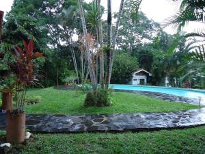 Der Swimmingpool an oder in der Nähe von Quinta Don Fernando