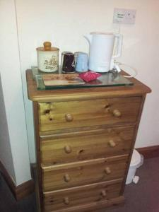 Coffee and tea-making facilities at Bed and Breakfast Ashfield