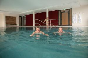 The swimming pool at or near Landhotel Annelie