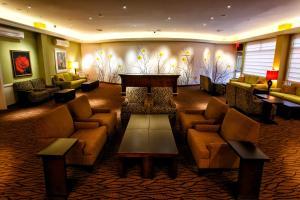 Hall ou réception de l'établissement Hilton Garden Inn New York/Staten Island
