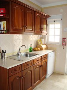 A kitchen or kitchenette at Holiday Home Burgo Sancho 1